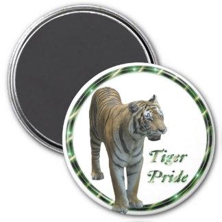 Orgullo verde del tigre iman para frigorífico