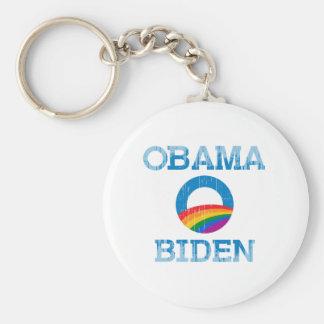 Orgullo Vintage.png de Obama Biden Llaveros Personalizados