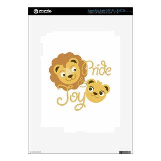 Orgullo y alegría pegatina skin para iPad 3