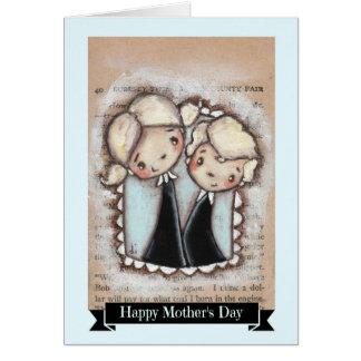 Orgullo y alegría - tarjeta del día de madre