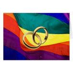 Orgullo y boda felicitacion