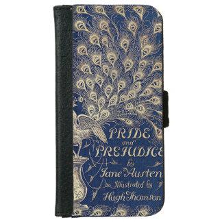 Orgullo y cubierta de libro de la edición del pavo funda cartera para iPhone 6