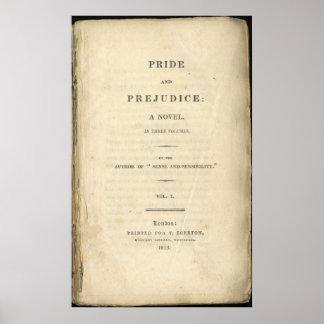 Orgullo y perjuicio Jane Austen Posters