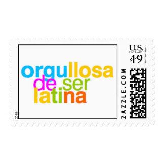 Orgullosa de ser Latina Postage