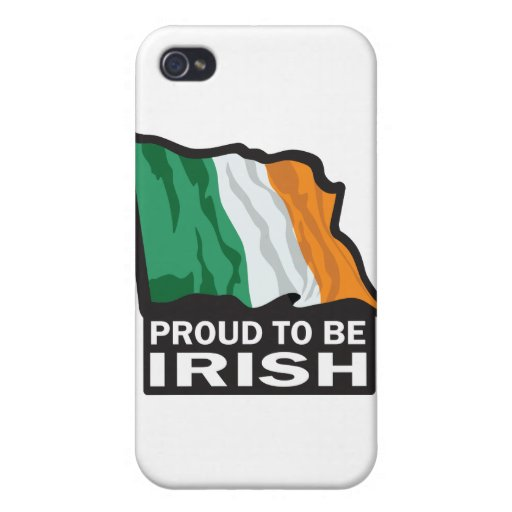 Orgulloso-a-beIRISH iPhone 4 Protectores