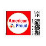Orgulloso americano sello