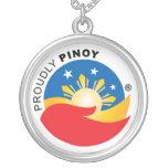 Orgulloso colgante del funcionario de Pinoy