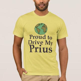 Orgulloso conducir mi camisa de Prius