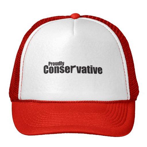 Orgulloso conservador gorra