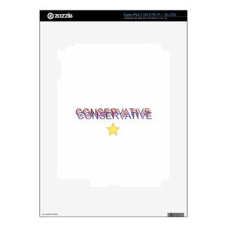 Orgulloso conservador iPad 3 pegatinas skins