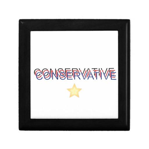 Orgulloso conservador joyero cuadrado pequeño