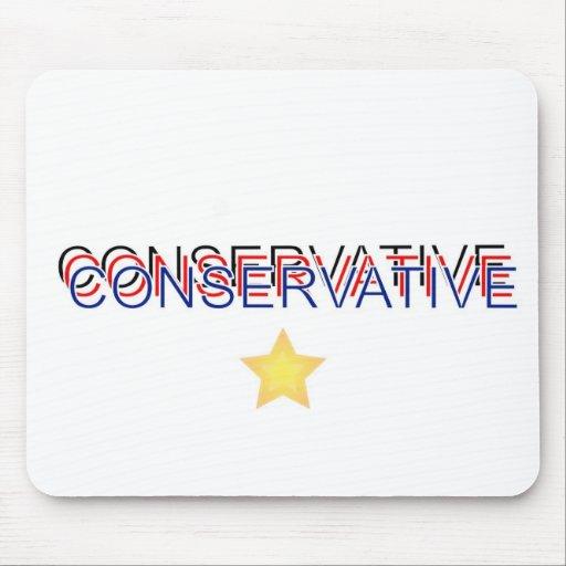 Orgulloso conservador tapetes de ratón