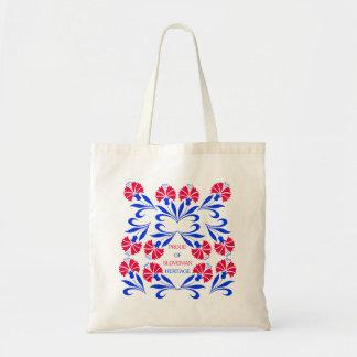 Orgulloso de bolso esloveno de la herencia bolsa tela barata