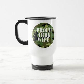 ~ orgulloso de la taza de la esposa del ejército