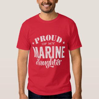 Orgulloso de mi hija MARINA Playeras