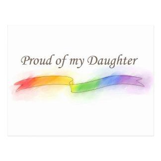 Orgulloso de mi hija postal