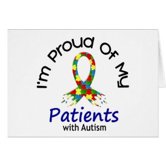Orgulloso de mis pacientes autísticos 1 CONCIENCIA Felicitación