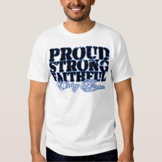Orgulloso, fuerte, fiel poleras
