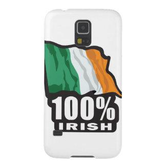 Orgulloso irlandés del 100% ser irlandés fundas de galaxy s5