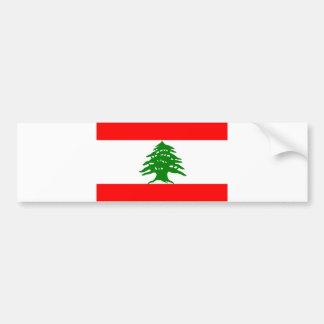 Orgulloso libanés - orgulloso ser libanés - Líbano Pegatina Para Auto