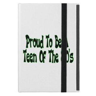 Orgulloso para ser años 80 adolescentes iPad mini cobertura