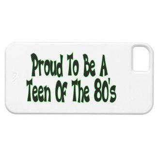 Orgulloso para ser años 80 adolescentes iPhone 5 fundas
