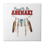 Orgulloso ser Abenaki Azulejos Cerámicos
