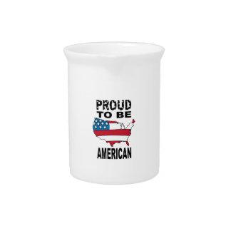 Orgulloso ser americano jarrones