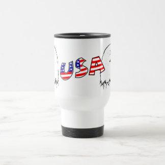 Orgulloso ser americano - los E.E.U.U. Tazas De Café
