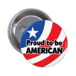 Orgulloso ser americano pin