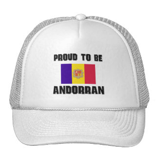 Orgulloso ser ANDORRANO Gorra