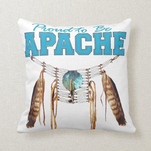 Orgulloso ser Apache Almohada