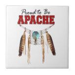 Orgulloso ser Apache Azulejos Ceramicos