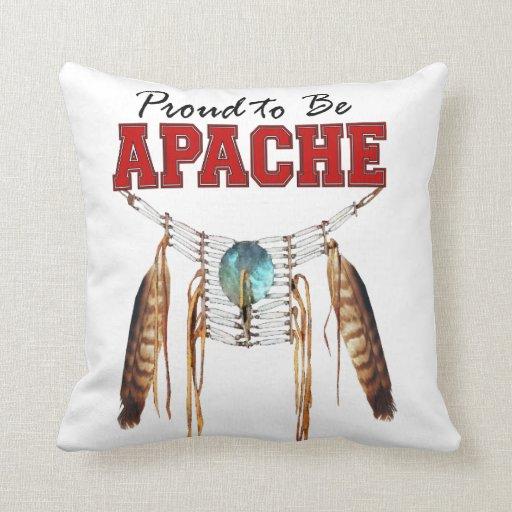 Orgulloso ser Apache Cojines
