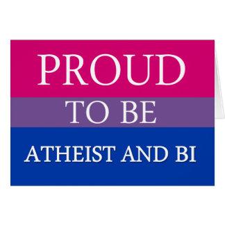 Orgulloso ser ateo y BI Felicitacion