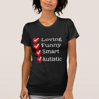 Orgulloso ser autístico camiseta