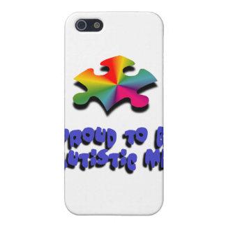 Orgulloso ser autístico yo iPhone 5 carcasas