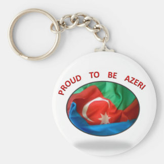 orgulloso ser azerbaiyano 9 llavero redondo tipo pin