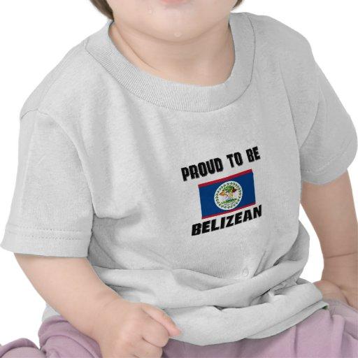 Orgulloso ser BELICEÑO Camisetas