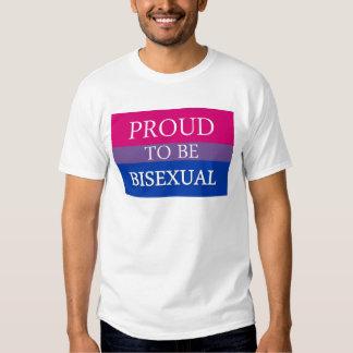 Orgulloso ser bisexual poleras