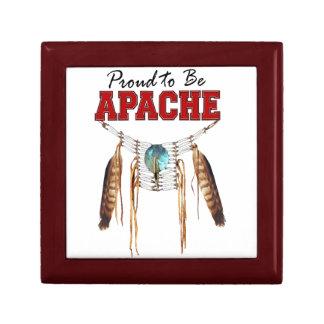 Orgulloso ser caja de regalo de Apache