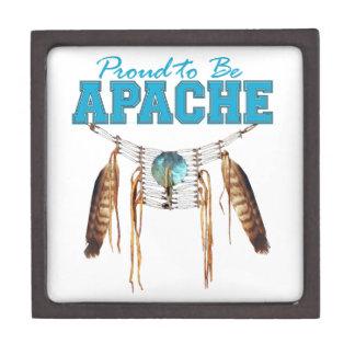 Orgulloso ser caja de regalo superior de Apache Caja De Recuerdo De Calidad