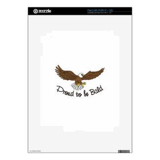 Orgulloso ser calvo skins para iPad 2
