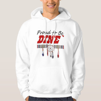 Orgulloso ser camiseta del adulto de Dine