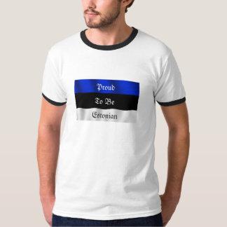 Orgulloso ser camiseta estonia