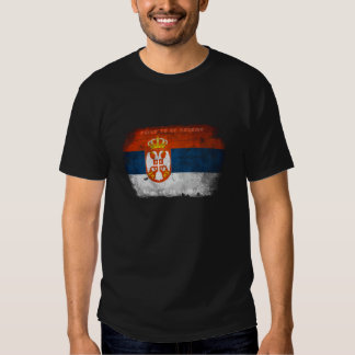 Orgulloso ser camiseta serbia remera