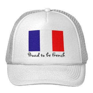 Orgulloso ser casquillo francés de la bola de la b gorras de camionero