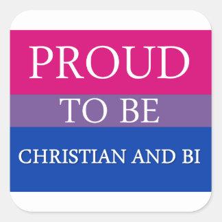 Orgulloso ser cristiano y BI Colcomanias Cuadradases