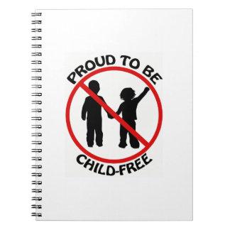 Orgulloso ser cuaderno Niño-Libre