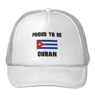 Orgulloso ser CUBANO Gorro